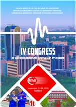 IV. Congress of Uzbeksitan Emergency Medicine  Physicians  Association