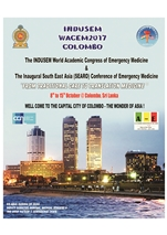 The World Academic Congress of Emergency Medicine & The Inaugural South East Asia ( SEARO) Conference of Emergency Medicine